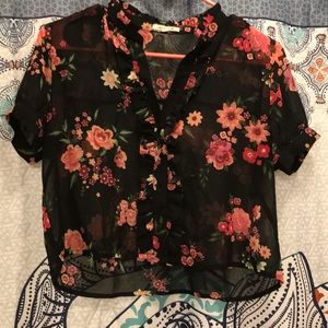 Cute size small blouse